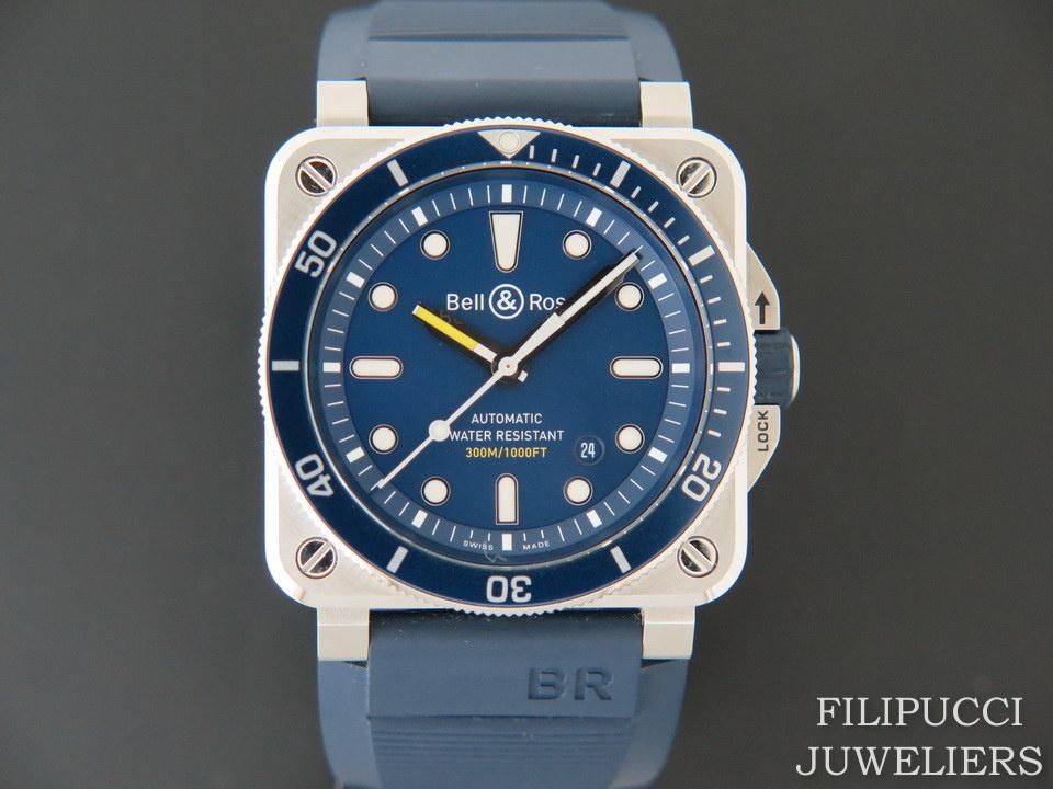 Bell & Ross Bell & Ross BR03-92 Diver Blue