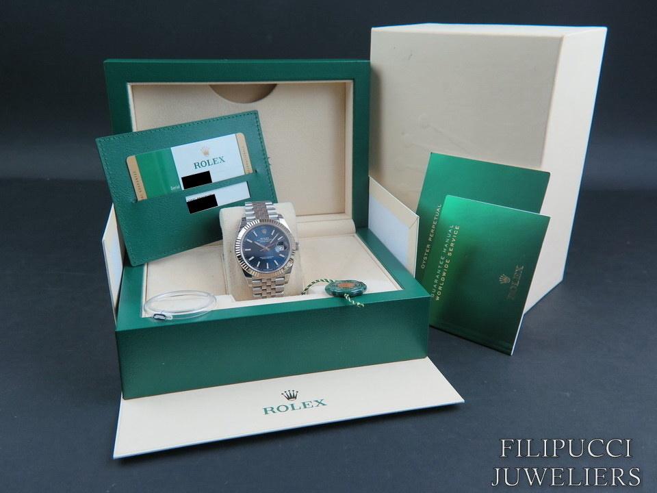 Rolex  Rolex Datejust 41 Blue Dial 126334 NEW