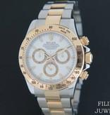 Rolex  Rolex Daytona Gold/Steel 116523 White Dial