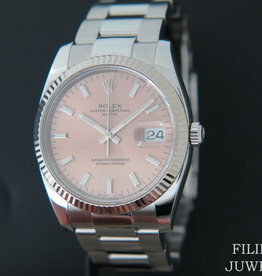 Rolex  Date Pink Dial 115234