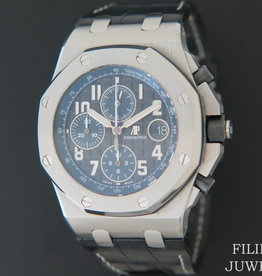 Audemars Piguet Royal Oak Offshore Black Dial Blue Chronograph 26470ST.OO.A028CR.01