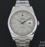 Rolex  Rolex Datejust II Silver Dial 116334