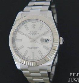 Rolex  Datejust II Silver Dial 116334