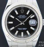 Rolex  Rolex Datejust II Black  Dial 116334