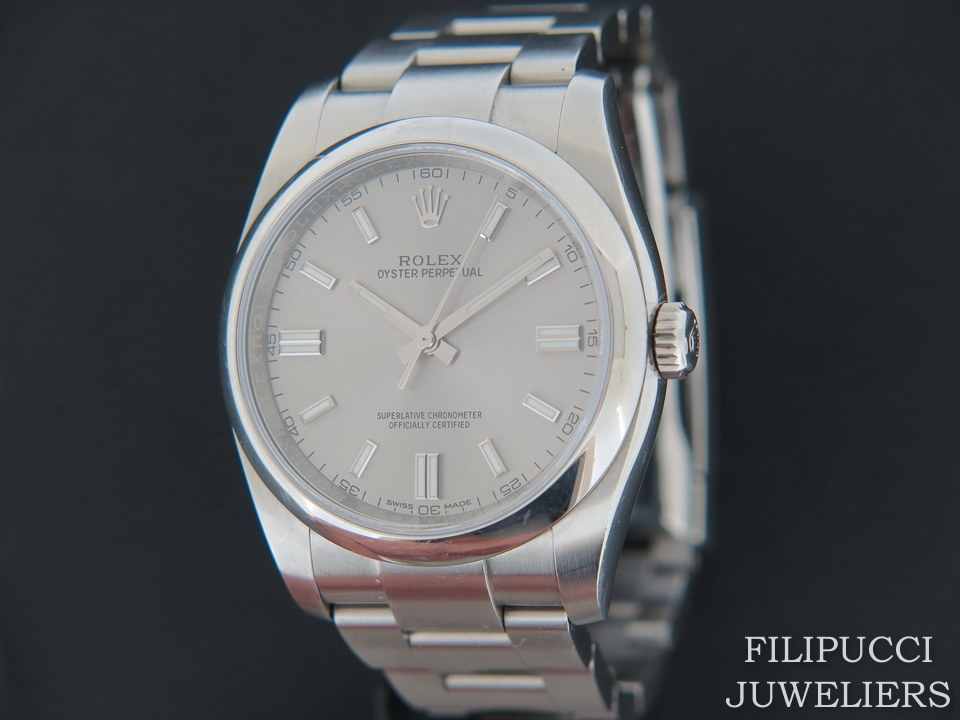 Rolex  Rolex Oyster Perpetual Steel Dial 116000