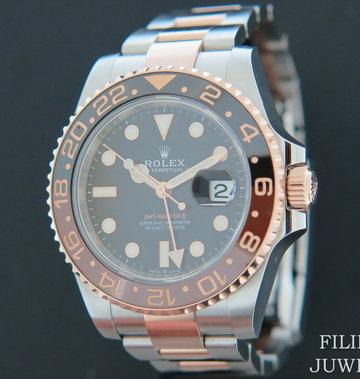 Rolex  GMT-Master II EVEROSE / STEEL NEW 126711CHNR