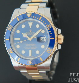 Rolex  Submariner Date Gold/Steel  Blue Dial 116613LB