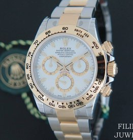 Rolex  Daytona Gold/Steel  NEW 116503 White Dial With Stickers