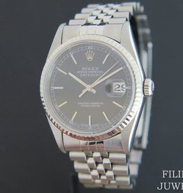 Rolex  Datejust  Black Dial 16234