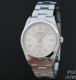 Rolex  Oyster Perpetual Air King Silver Dial 14000M