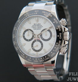 Rolex  Daytona 116500LN NEW White Dial  Partly Stickers