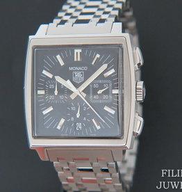 Tag Heuer Monaco Chronograph Black Dial CW2111