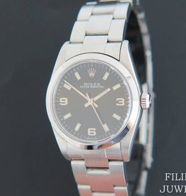 Rolex  Oyster Perpetual  31MM Black Dial 77080