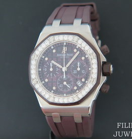 Audemars Piguet Royal Oak Lady Offshore Chrono Diamonds 26048SK