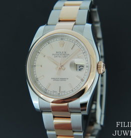 Rolex  Datejust Everose/Steel NEW 116201 Pink Dial