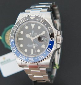 Rolex  GMT Master II BLNR NEW 116710BLNR WITH STICKERS