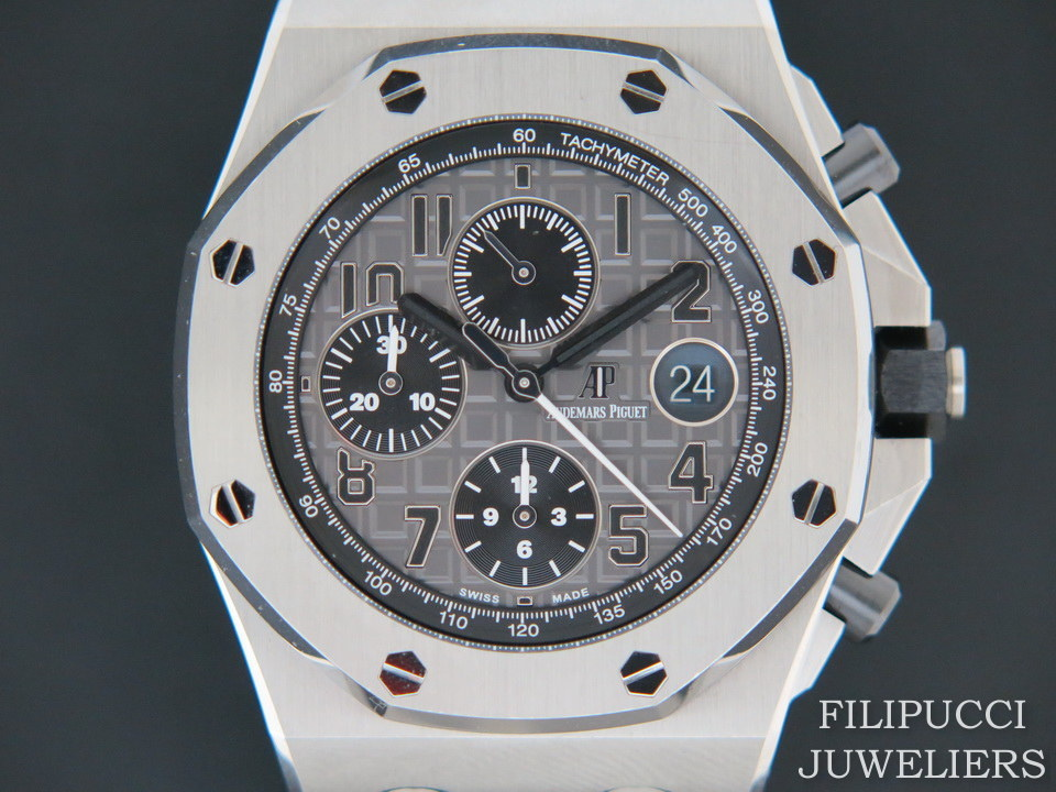 Audemars Piguet Audemars Piguet Royal Oak Offshore Grey Dial Chronograph 26470ST.OO.A104CR.01