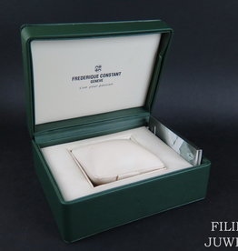 Frederique Constant Watch box with manual