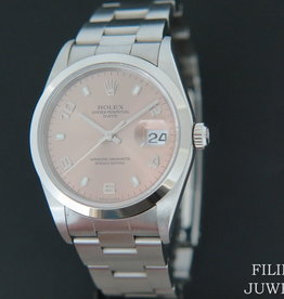 Rolex  Date Pink Dial 15210/15200
