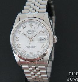 Rolex  Datejust White Dial 16200
