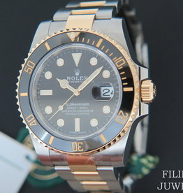 Rolex  Submariner Date Gold/Steel NEW 116613LN   Black Dial With Stickers