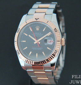 Rolex  Datejust Turn-O-Graph Rose Gold/Steel 116261