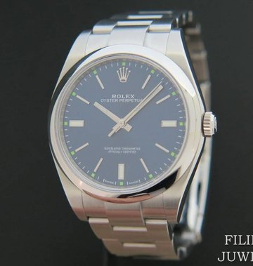Rolex  Oyster Perpetual 114300 Blue NEW