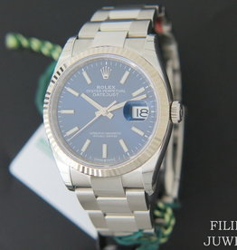 Rolex  Datejust 126234 Blue Dial NEW MODEL Full Stickers