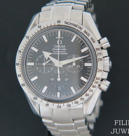 Omega Speedmaster Broad Arrow  Chronograph Black Dial 3551.50.00