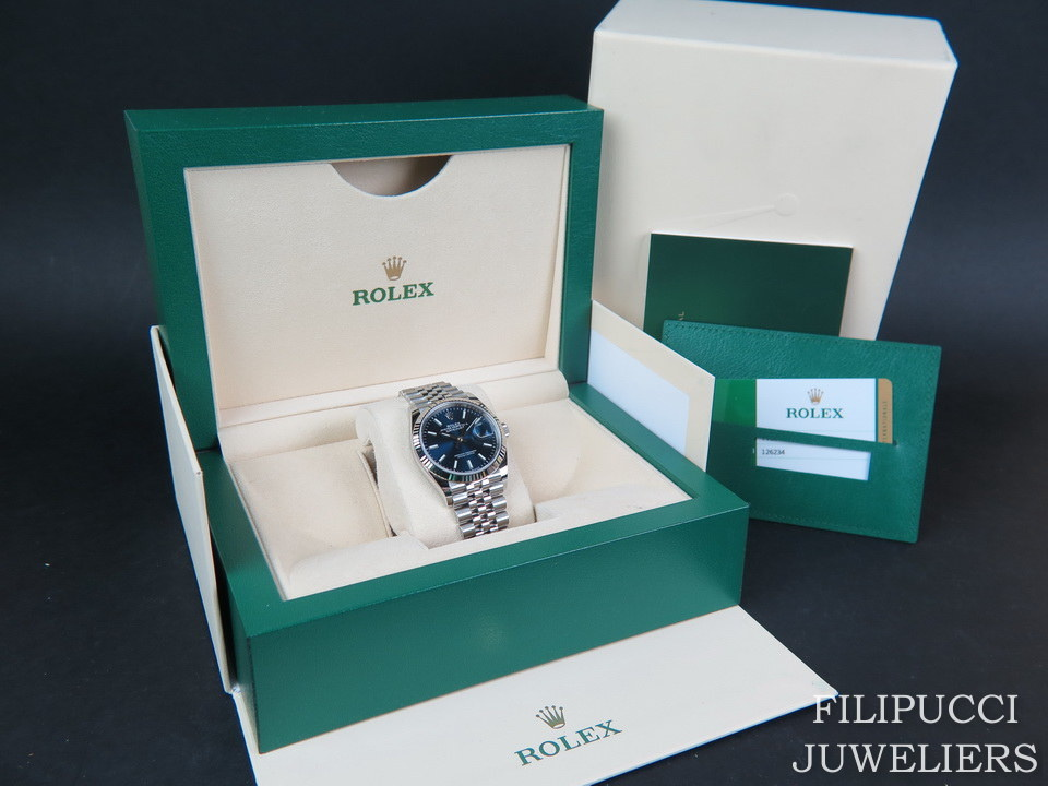 Rolex  Rolex Datejust 126234 Blue Dial NEW MODEL
