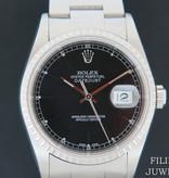 Rolex  Rolex Datejust Black Dial 16220