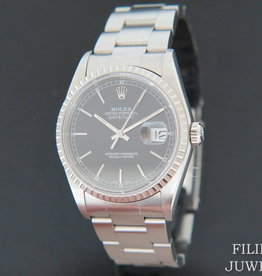 Rolex  Datejust Black Dial 16220