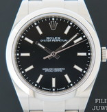 Rolex  Rolex Oyster Perpetual 39 Black Dial NEW 114300
