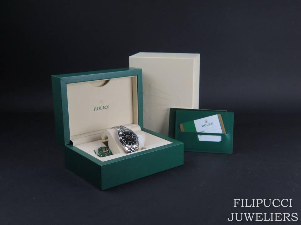 Rolex  Rolex Datejust 41 Black Dial NEW 126334