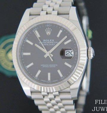 Rolex  Datejust 41 Black Dial NEW 126334