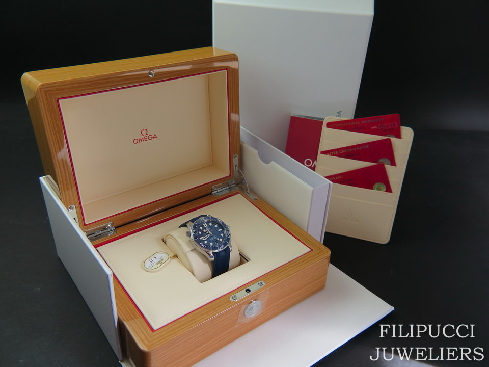 Omega Omega Seamaster Diver 300M Co‑Axial Master Chronometer NEW 21032422003001