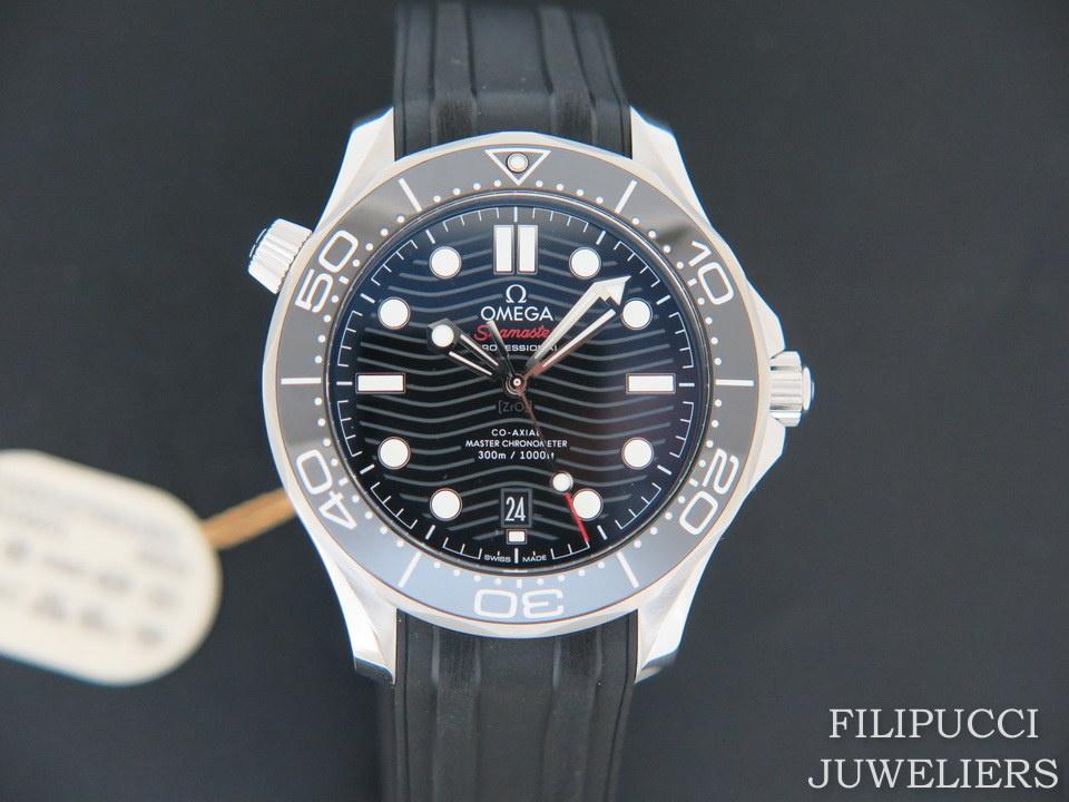 Omega Omega Seamaster Diver 300M Co‑Axial Master Chronometer NEW 21032422001001