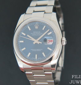 Rolex  Datejust Blue Dial 116200
