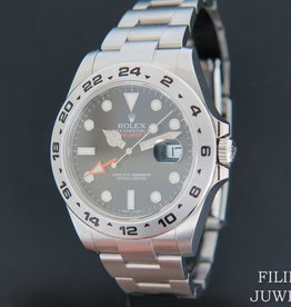 Rolex  Explorer II 216570 Black Dial NEW - Copy