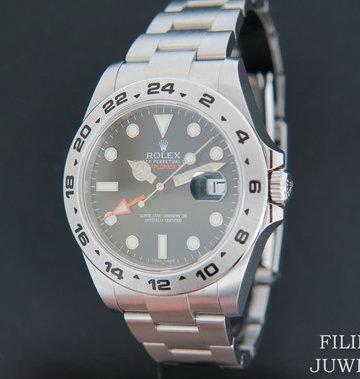 Rolex  Explorer II 216570 Black Dial NEW - Copy