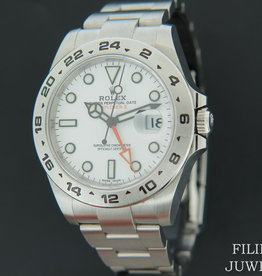 Rolex  Explorer II White Dial 216570  NEW 2020