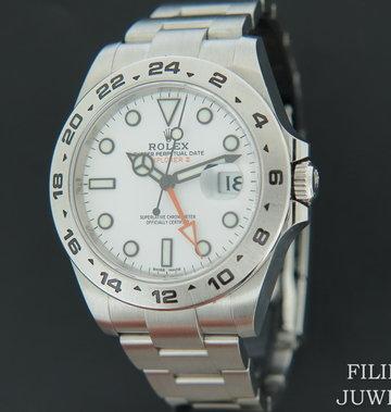 Rolex  Explorer II White Dial 216570  NEW 2020