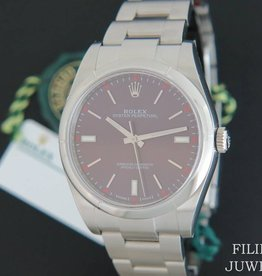 Rolex  Oyster Perpetual Red Grape NEW 114300 2020