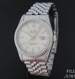 Rolex  Datejust Silver Dial 16220
