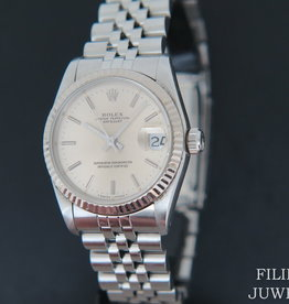Rolex  Datejust Silver Dial 68274