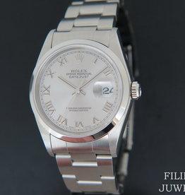 Rolex  Datejust Rhodium Roman Dial 16200