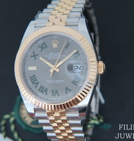 Rolex  Datejust 41 Gold/Steel Slate Dial 126333 NEW 2020