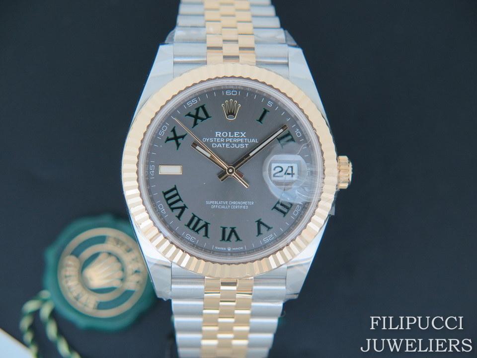 Rolex  Rolex  Datejust 41 Gold/Steel Slate Dial 126333 NEW 2020