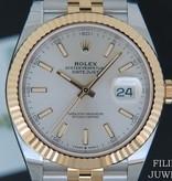 Rolex  Rolex Datejust 41 Gold/Steel NEW 126333 Silver Dial 2020