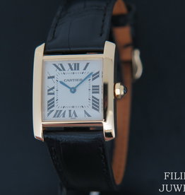Cartier Tank Francaise MM Yellow Gold